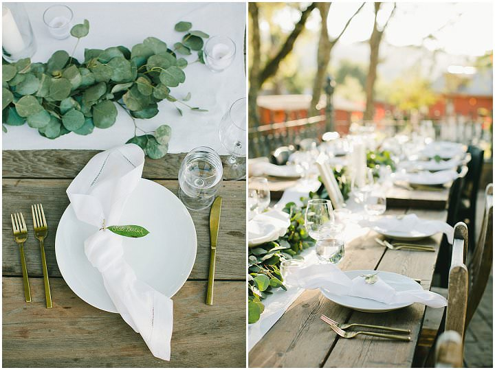 Tessa and Max's Food Loving Flower Filled Outdoor Napa Vallery Wedding by OneLove Photography