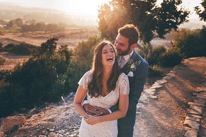 Joanna andGeorge's Olive Branch Themed Hot Cyprus Wedding by Sarah Gray Photography