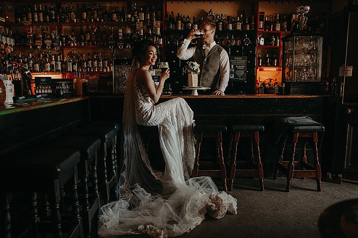 Shannon and Darren's Elegant Irish Castle Elopement by Sean and Kate