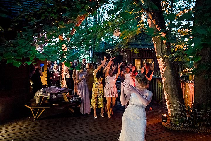 Rachel and Stuart's Simple and Natural Outdoor Treehouse Wedding by Daz Mack