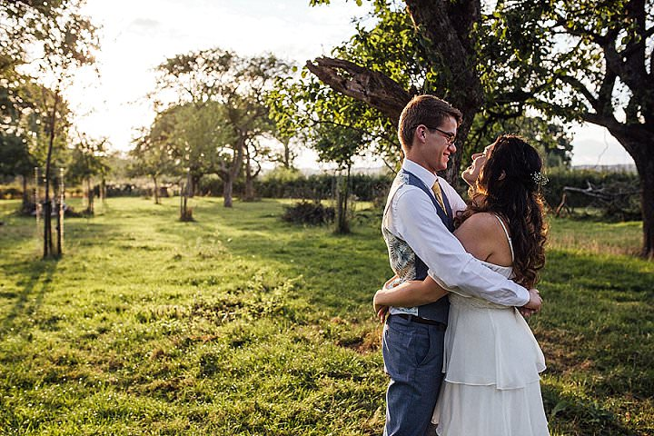 Emily and Johan's Flower Filled Bright and Beautiful Tipi Wedding in Shropshireby Florence Fox