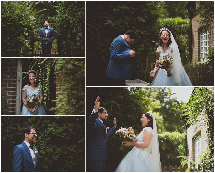 Elizabeth and Jack's 'Glastonbury meets Downton Abbey' Woodland Wedding at Home by SashaWeddings