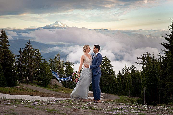 Katie and Brian's Outdoor Loving DIY Farm Wedding in the Mountains by Ginger Fox Photography