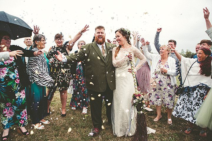 Janey and Adam's 'Witches and Vikings' Pagan Wedding in Glastonbury by Emma Stoner - Boho Weddings For the Boho Luxe Bride