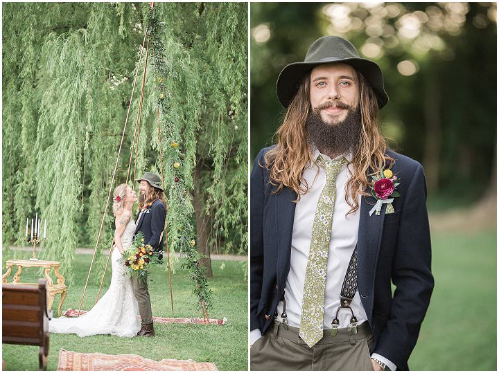 'A Bridal Adventure' Travel Themed Wedding Inspiration Complete with a Couple of Goats
