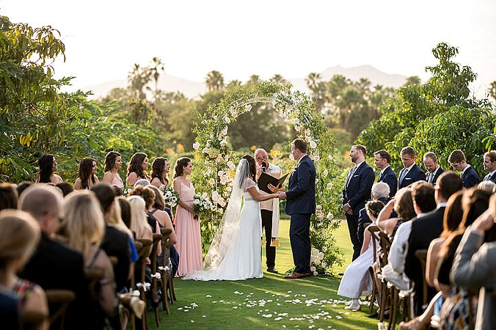 Henry and Joelle's Super Stylish Mexican Wedding with a Donkey and Maracas by Julia Franzosa Photography