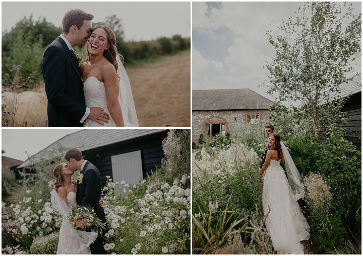 Sarah and Ryan's 'Rustic Elegance' Food Loving Peach Wedding in West Sussex by Julia and You