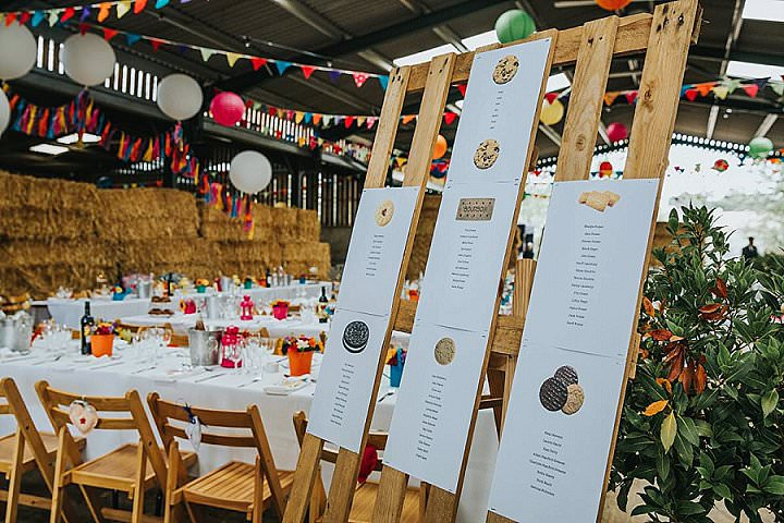 Rebecca and Ian's Mexican Day of The Dead meets Rustic Farm Wedding by This and That Photography
