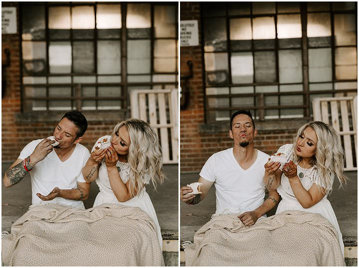 'Tacos, Motorbikes and Tattoos' - Boho Filled Care Free Elopement Inspiration