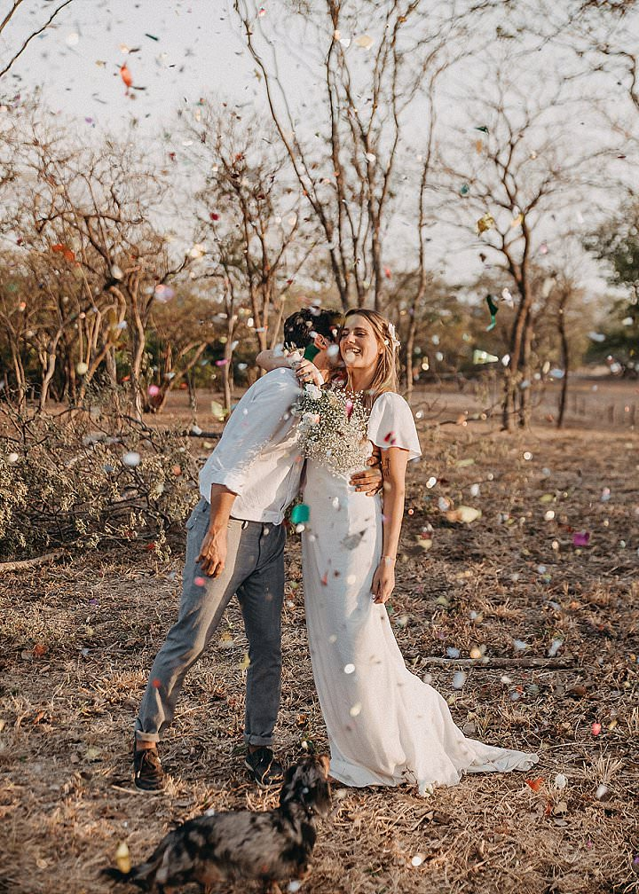 Belen and Diego's Barefoot Boho Beach Weddingin in Costa Rica by Raw Shoots Photography