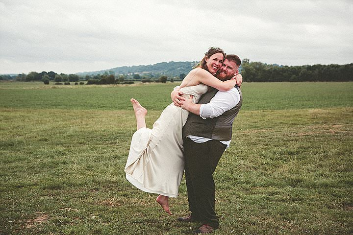 Janey and Adam's 'Witches and Vikings' Pagan Wedding in Glastonbury by Emma Stoner