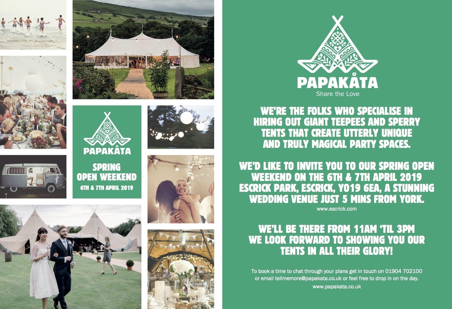 PapaKåta Open Weekend - York