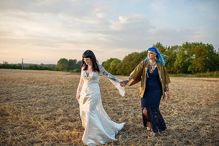 Ruth and Ami's '4 Countries In One Wedding' Outdoor Colour and Culture Wedding by Andy Dane photography - Boho Weddings For the Boho Luxe Bride