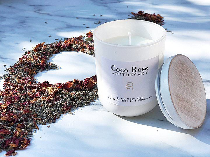 Boho Loves: Coco Rose Apothecary - Hand Poured, Sustainable Candles. Made with love