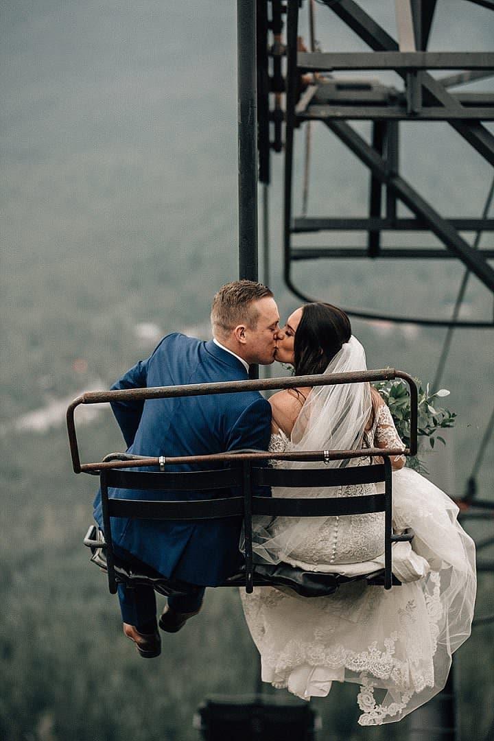Marissa and Adam's 'Rustic Lush' Ski Resort Wedding by Bethany Small - Boho Weddings For the Boho Luxe Bride