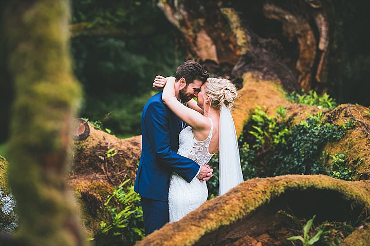 Rhianwen and Oliver's Rustic Mismatched Marquee Wedding in Wales by Lewis Fackrell