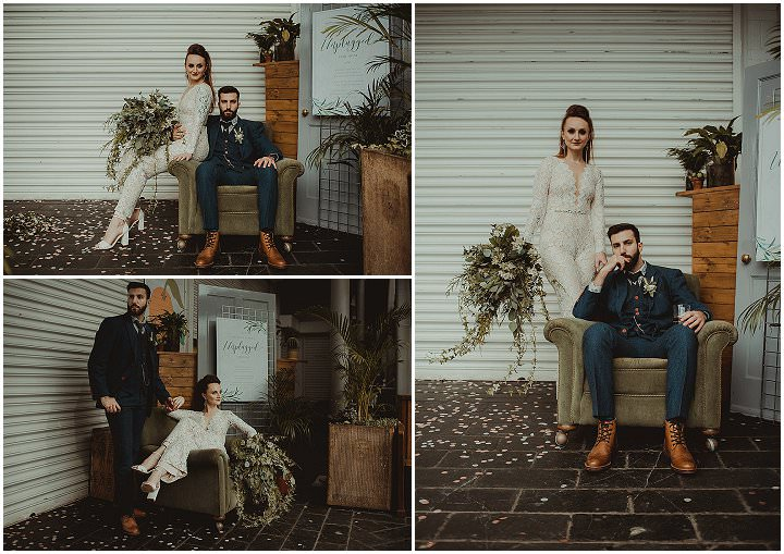 'Bringing the Outside In' Sustainable Industrial Luxe Wedding Inspiration