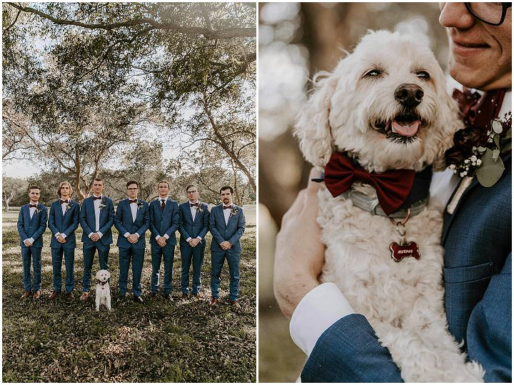 Shana and Hogan's Jewel Toned Autumn Wedding in Texas by Taylor Sivard