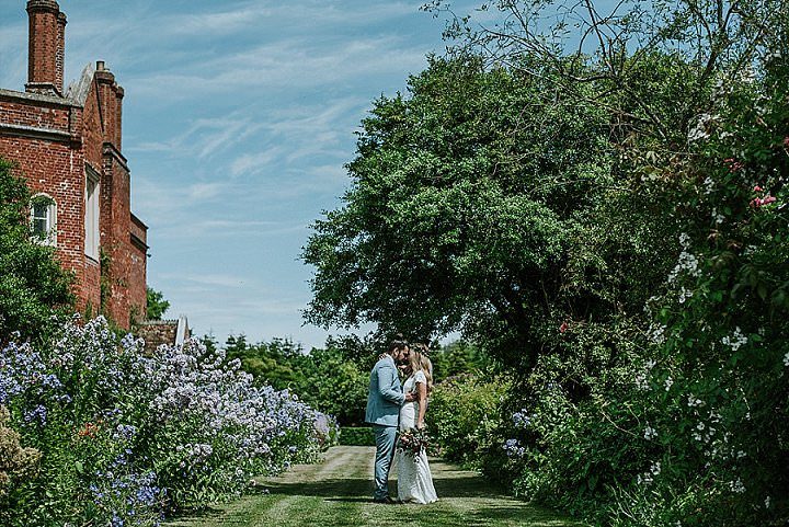 Louise and Aaron's Colourful, Handmade Barn Wedding in Cambridge with Plenty of Personalityby Daniel Ackerley