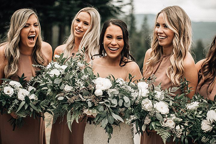 Marissa and Adam's 'Rustic Lush' Ski Resort Wedding by Bethany Small