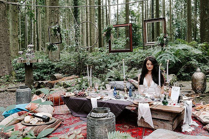 'Esmeralda' Bohemian Gypsy Wedding Inspiration
