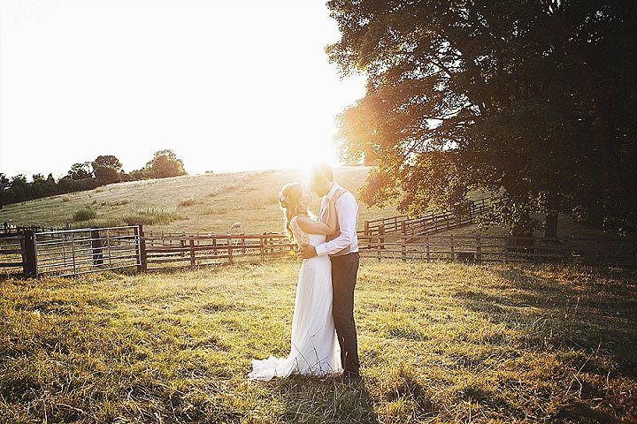 Katrina and Stuart's Laid Back Homespun Back Garden Yurt Wedding by Benni Carol
