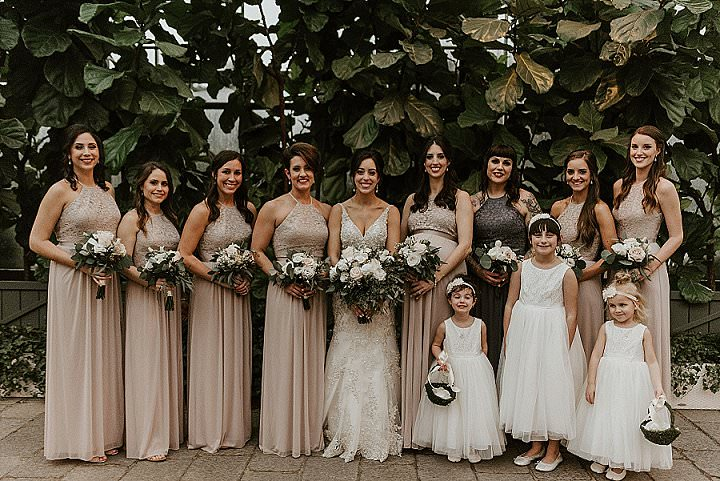 Lauren and Nathan's Ethereal Flower Filled Conservatory Wedding by Northern Native Photography