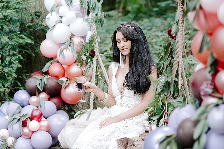 'Esmeralda' Bohemian Gypsy Wedding Inspiration