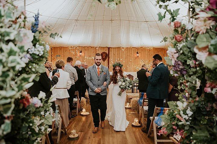Genna and Liam's Viking Loving, Spiritual Farm Wedding by Luke Slattery