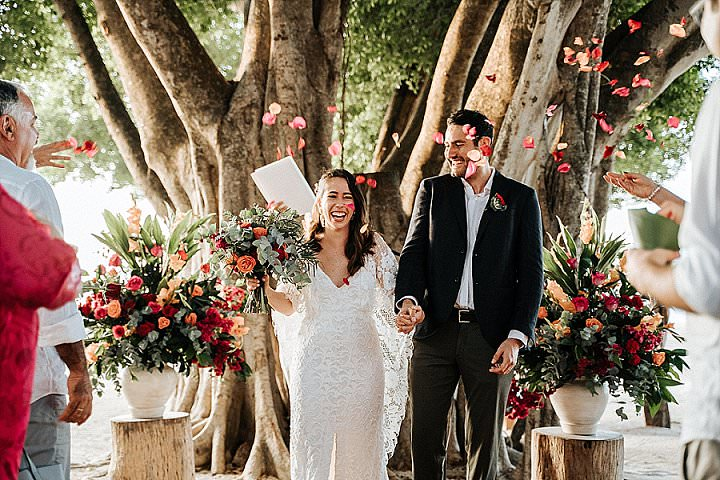 Alejandra and Esteban's Vibrant Costa Rica Beach Wedding by Four Nineteen Weddings and Raw Shoots Photography