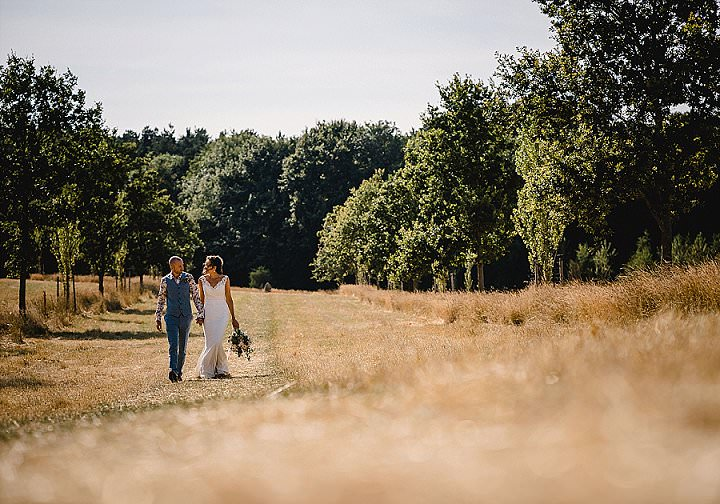 Jade and Noel's Butterfly Themed Hot Summer Norfolk Barn Wedding by Luis Holden Photography