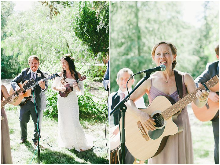 Ashley and Josh's 'California Dreaming' Elegant Outdoor Bohemian Festival Wedding by One Love Photography