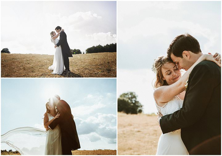 Katrina and Stuart's Laid Back Homespun Back Garden Yurt Wedding by Benni Carol