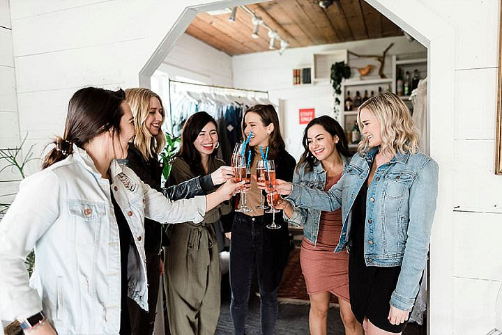 Revelry Hosted A Try-On Party For The Founder Of Leopard Martini And It is Officially Our Fave Event Ever