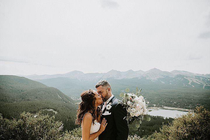 Selena and Steve's Mountain Chic Wedding in Colorado by Ashley Tiedgen