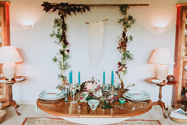 Rich and Romantic Bohemian Wedding Inspiration From Portugal
