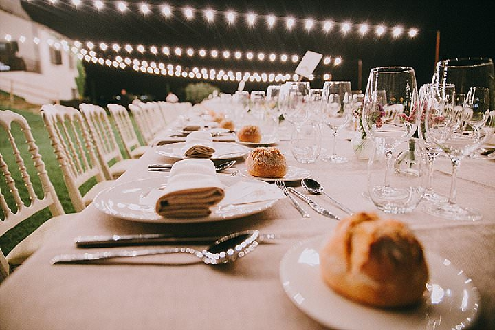 Lucia and Antoine's Rustic Chic Outdoor Madrid Wedding by Leyre Canizares