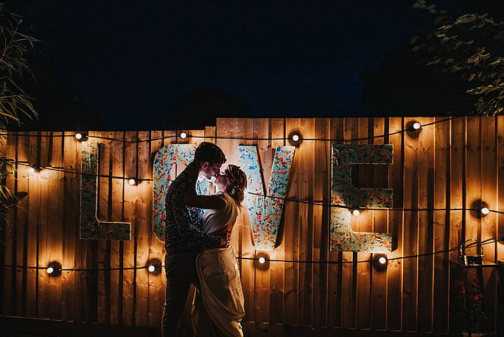 Lewis and Amy's Fun and Relaxed Full of Colour Back Garden Wedding by This and That Photography