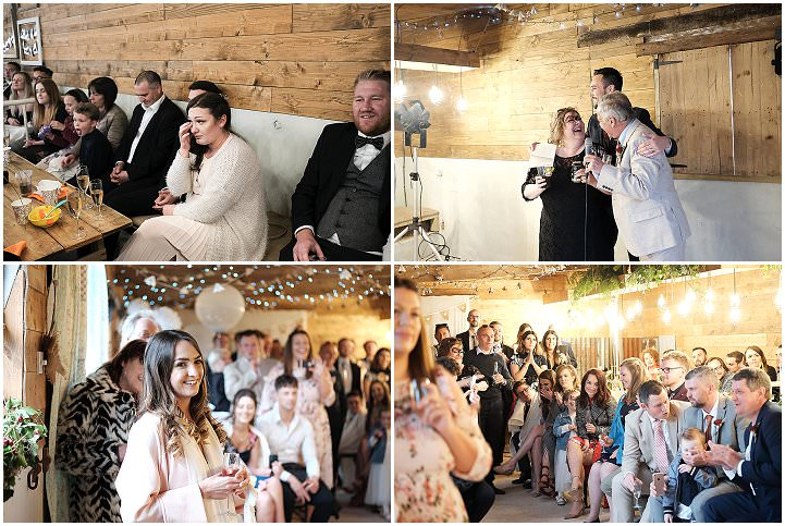 Sophie and David's 'Rustic Boho' Cornish Cowshed Wedding by Jamie Webb Photography