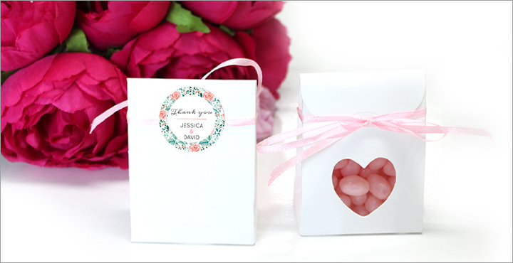 Unique Favours and Invitations 'Share Your Happy Moments'