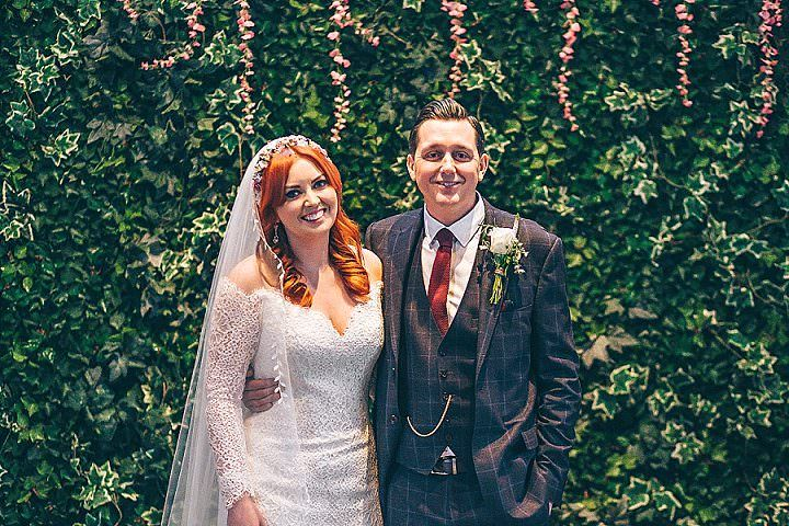 Jessica and Simon's 'Bringing The Outside In' DIY Wedding in Preston by Simon Herridge