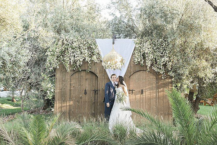Teresa and Gabriel's Spectacular 'Olive Grove meets Sunset Rooftop' Moroccan Wedding by Maria Rão