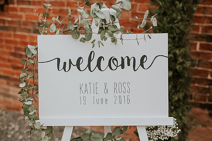 Ross and Katie's Handmade Blush and White Warwickshire Barn Wedding by D and A Photography