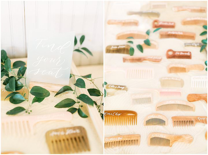 Alex and Mark's Sea Blue and Blush North Carolina Beach Wedding by Gideon Photography