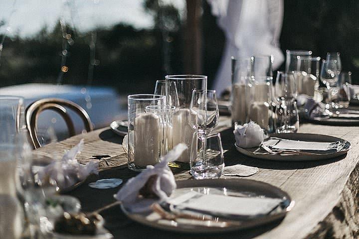Lisa and Dom's 'Bohemian Minimalist' Intimate Ibiza Villa Wedding by Del Mao Photography