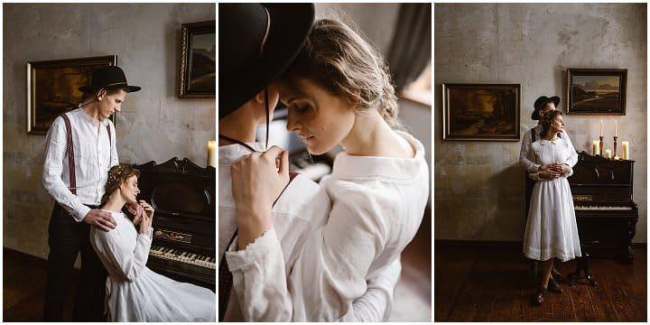 Bridal Style: Son de Flor Timeless. Feminine. Charming. Subtle - Linen Wedding Dresses