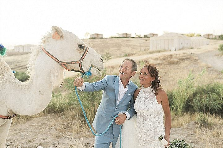 Karin and Ruud's'Dusty Pastels and Desert Shades' Intimate Marrakech Desert Wedding by Maria Rao