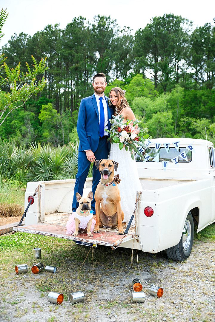 Laloma and Ryan's Doughnut Filled Dog Loving Lake Side Wedding by Diana Deaver Photography