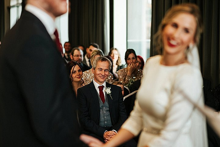 Sarah and Matt's Big Christmas Party Wedding in Leeds by Photography by Charli