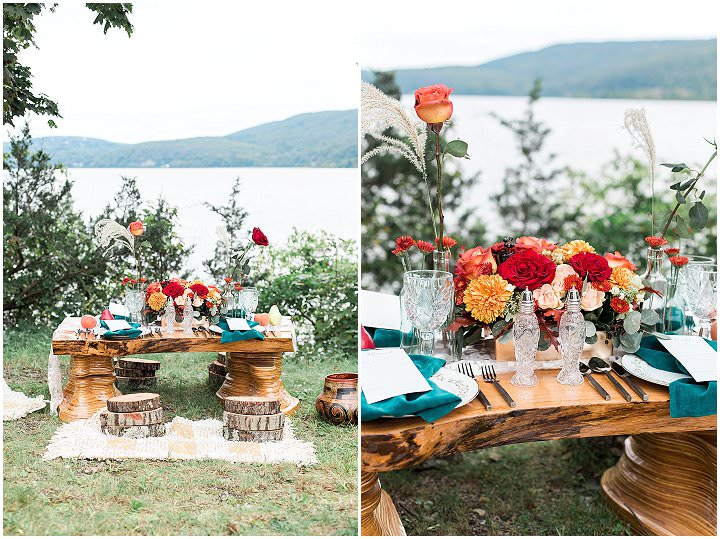 'Rich Tones and Velvet' Whimsical Fall Wedding Inspiration